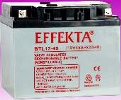 Effecta 12V/45AH/20hr Solar & Wind Off-Grid Battery